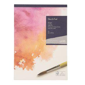 Uniti Platinum Sketch Pad 300gsm A4 10 Sheets