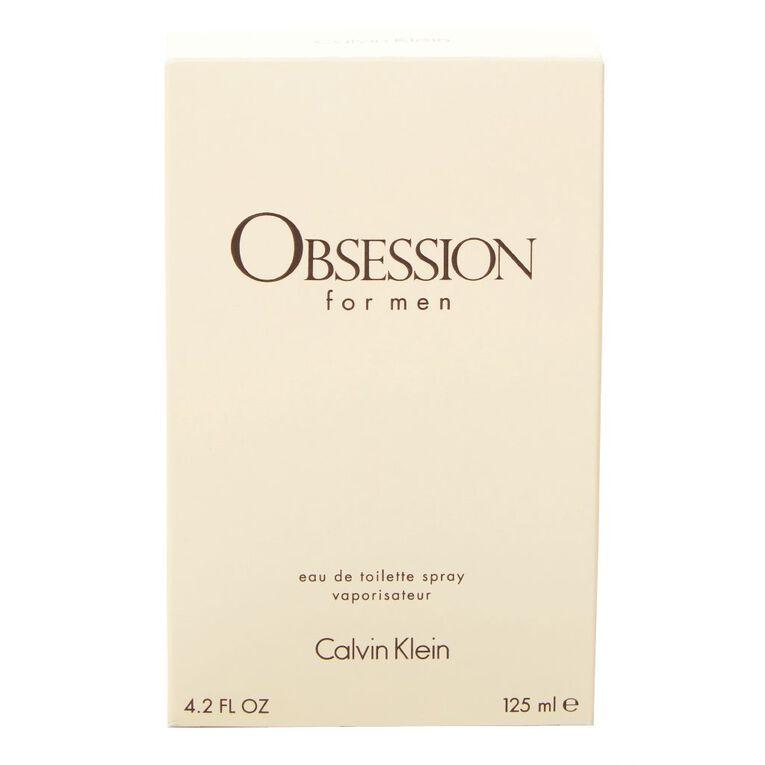 Calvin Klein Obsession Men EDT 125ml, , hi-res