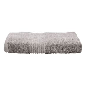 Living & Co Manhattan Bath Towel Alloy 135cm x 65cm