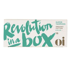 Oi Organic Cotton Tampons Super 16 Pack