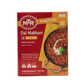 MTR Dal Makhani Black Lentil Curry Ready to Eat Meal 300g