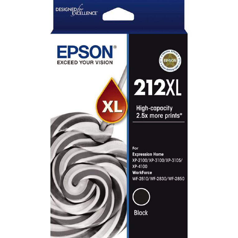 Epson Ink 212XL Black (500 Pages), , hi-res