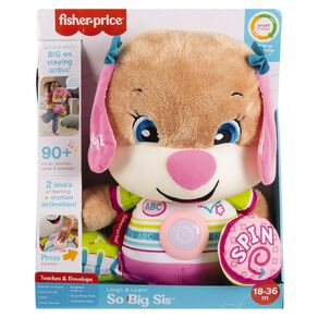 Fisher-Price Laugh & Learn Big Puppy Sis