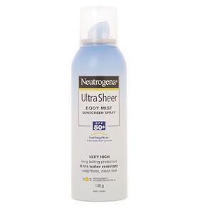 Neutrogena Ultra Sheer Body Mist SPF50+
