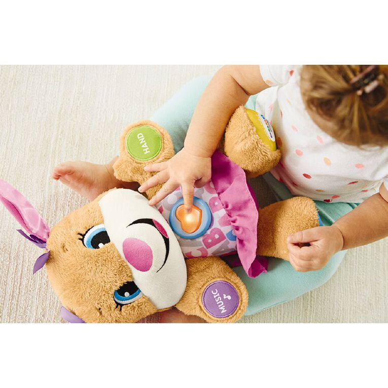 Fisher-Price Laugh & Learn Pink Girl Puppy, , hi-res