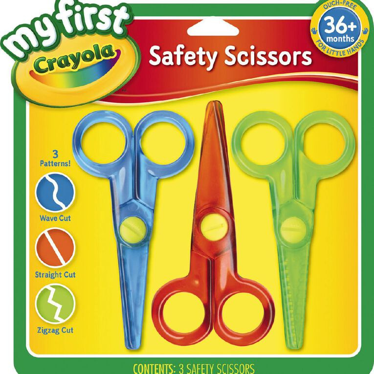 Crayola My First Safety Scissors 3 Pack, , hi-res