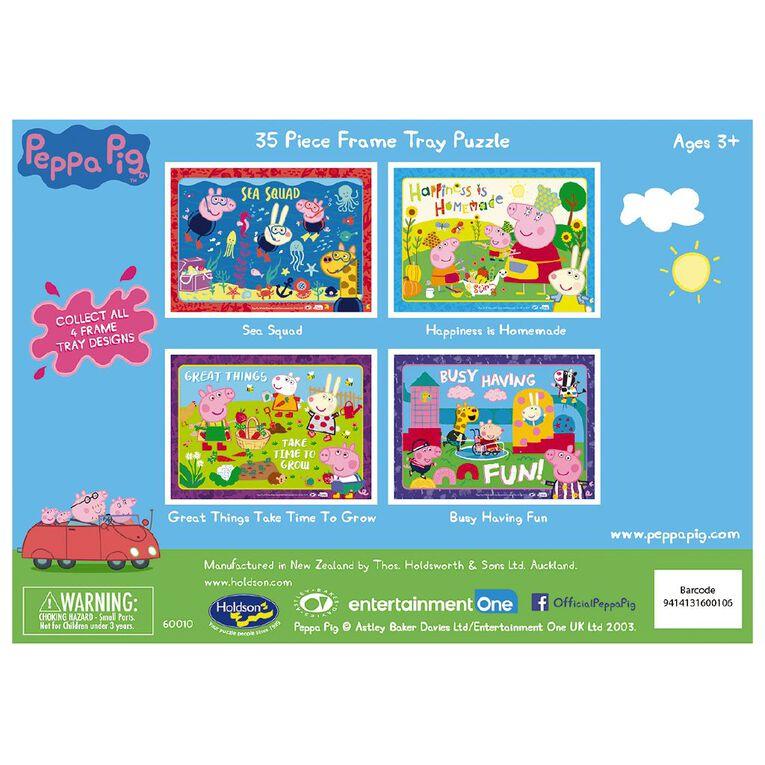Puzzle Peppa Pig 35 Piece Frametray Puzzle Assortment, , hi-res