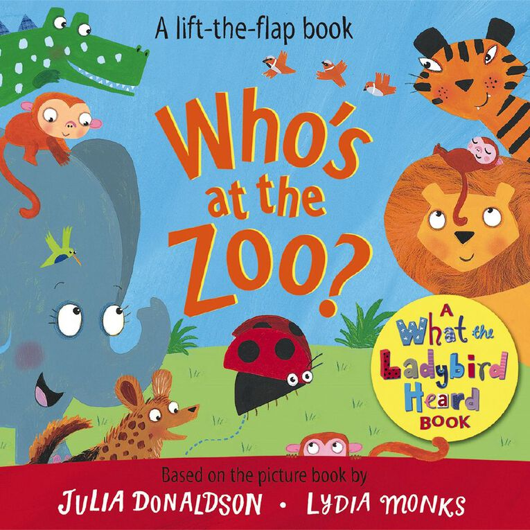 Who's at the Zoo? A What the Ladybird Heard Book by Julia Donaldson, , hi-res