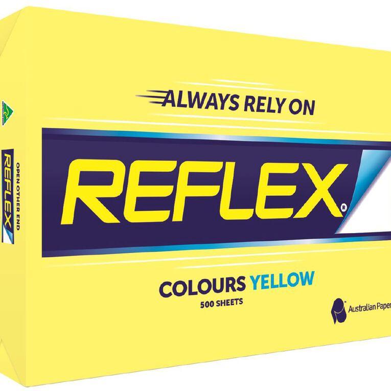 Reflex Paper 80gsm Tints 500 Pack Yellow A3, , hi-res