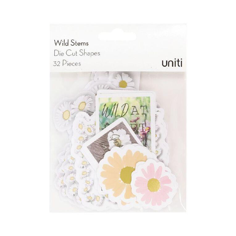 Uniti Wild Stems Cardstock Die Cut Shapes 32 Pieces, , hi-res
