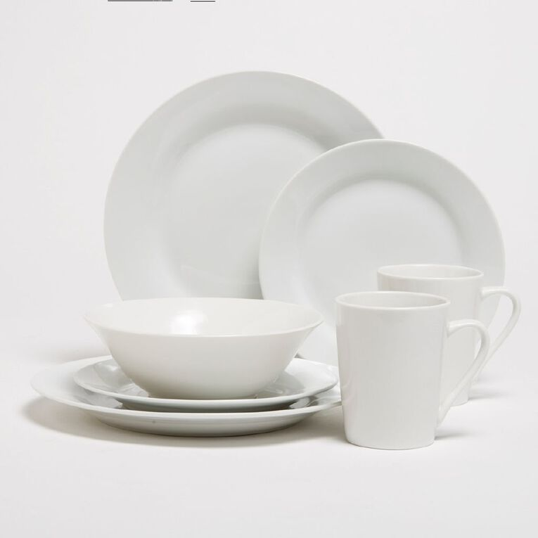 Living & Co Essentials Side Plate White, , hi-res