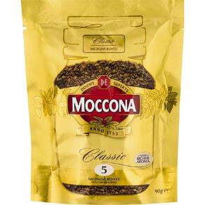Moccona Freeze Dried Classic Refill 90g