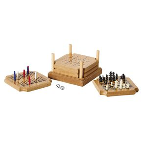 4-in-1 Coaster Games