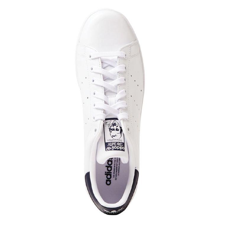 Adidas Men's Stan Smith Shoes, White/Navy, hi-res