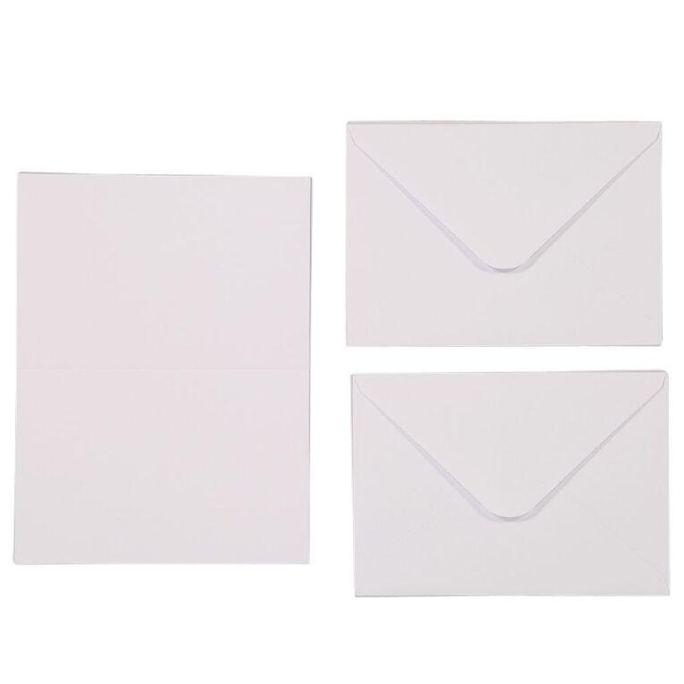 Uniti Cards & Envelopes White 25 Pack, , hi-res