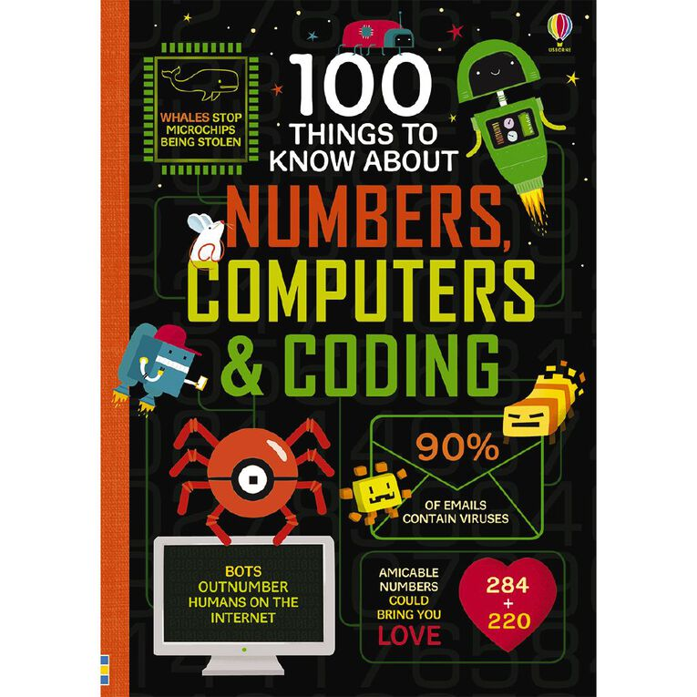 100 Things Numbers Computers & Coding, , hi-res