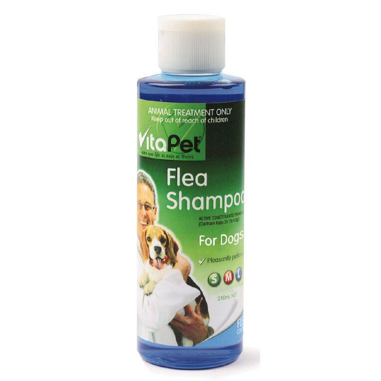 Vitapet Flea Shampoo for Dogs 250ml, , hi-res