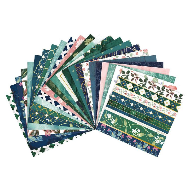 Craft Smith Paper Pad 12x12 inch Assorted Designs, , hi-res image number null