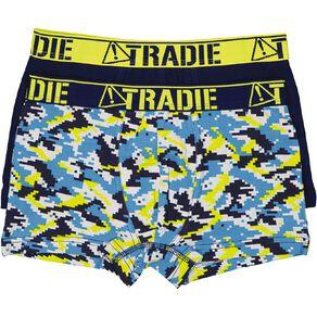 Tradie Boys' Trunks 2 Pack