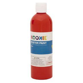 Kookie Poster Paint Red 500ml
