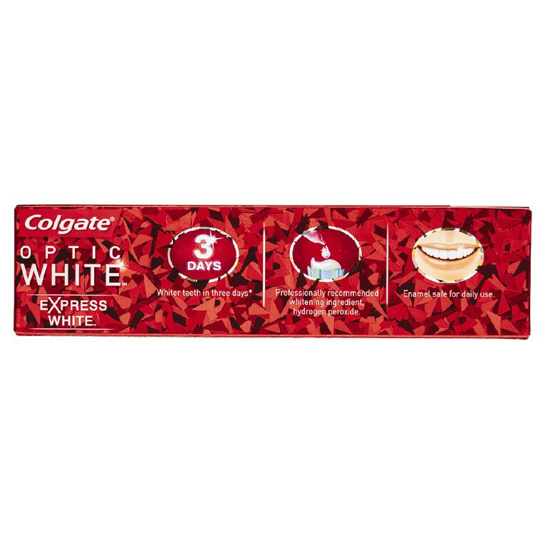 Colgate Optic White Toothpaste Express White 125g, , hi-res