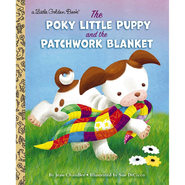 Little Golden Book: The Poky Little Puppy & the Patchwork Blanket, , hi-res
