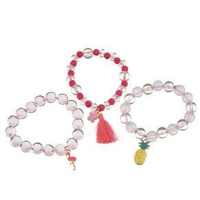 Kids Pineapple Bracelet Set