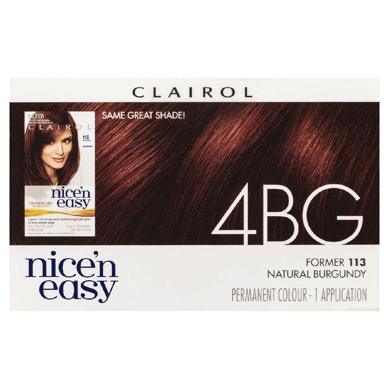 Nice 'n Easy Burgundy 4BG (former 113), , hi-res