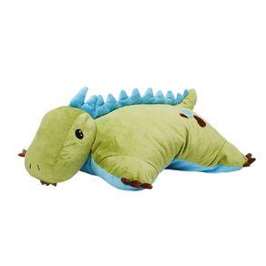 Living & Co Kids Cushion Dino Green 46cm x 43cm