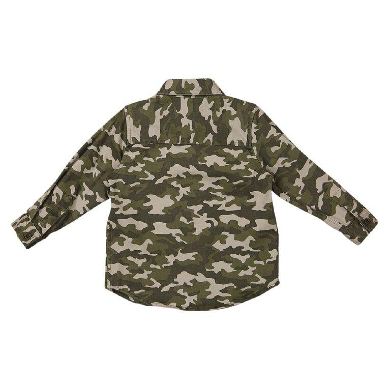 Young Original Toddler Long Sleeve Shirt, Green Light, hi-res
