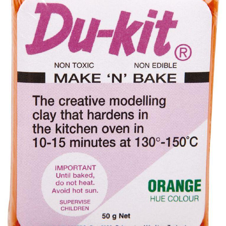 Du-kit Clay Orange 50g, , hi-res