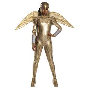 Wonder Woman 1984 Golden Armour Adult Costume - Size S