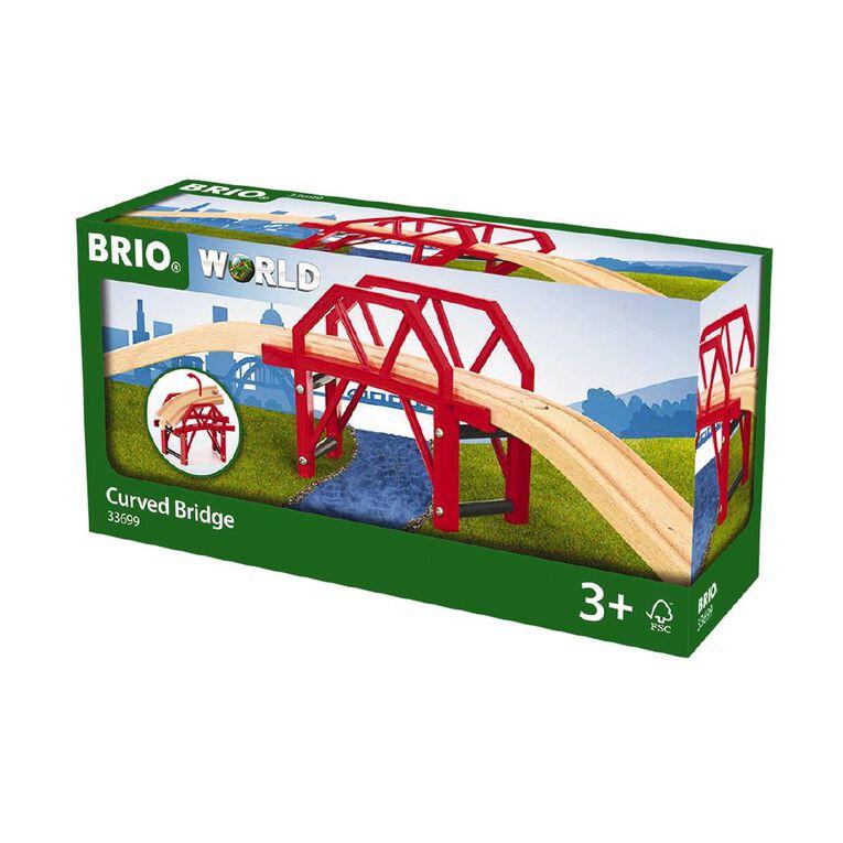 Brio Curved Bridge 4 Pieces, , hi-res