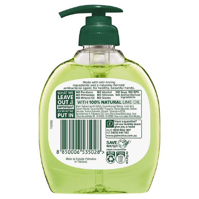Palmolive Antibacterial Liquid Hand Wash Pump Lime  250ml, , hi-res