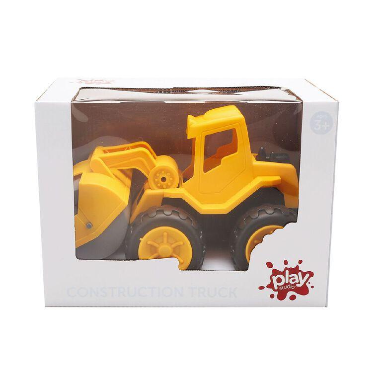 Play Studio Construction Toy Asphalt Roller, , hi-res