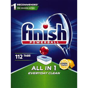 Finish All In One 112 Dishwahser Tablets - 112 tabs