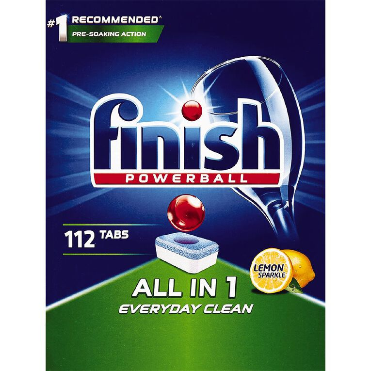 Finish All In One 112 Dishwahser Tablets - 112 tabs, , hi-res