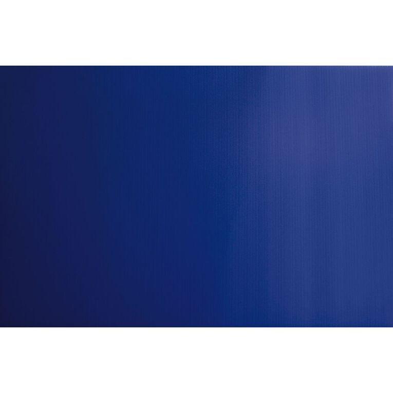 Plasti-Flute Sheet 600mm x 450mm Blue, , hi-res