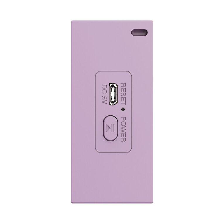 Veon Bluetooth Speaker Purple VNBTQ62020, , hi-res