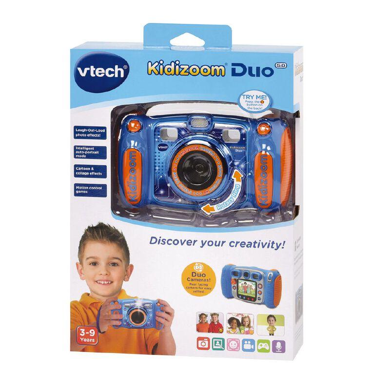 Vtech Kidizoom Duo 5.0 Camera Blue, , hi-res