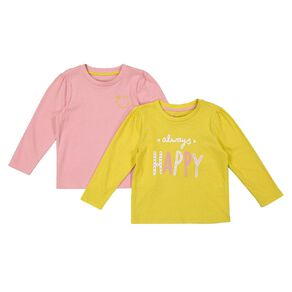 Young Original Toddler Long Sleeve 2 Pack Tees