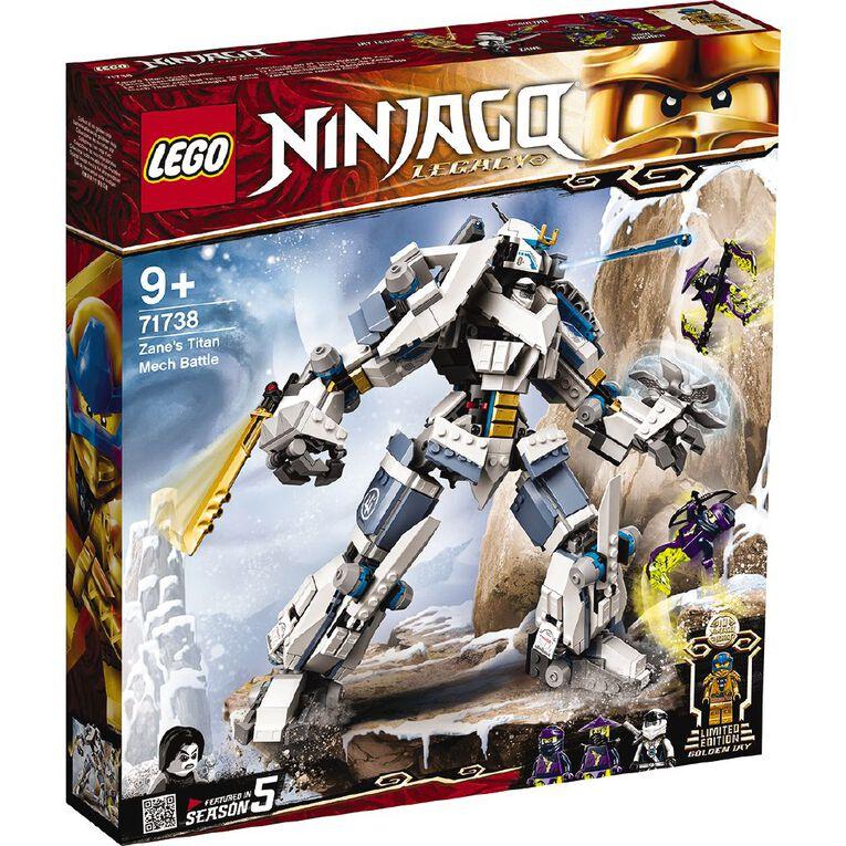 LEGO Ninjago Zane's Titan Mech Battle 71738, , hi-res
