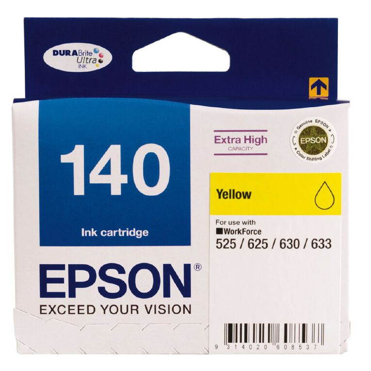 Epson Ink 140 Yellow (755 Pages), , hi-res