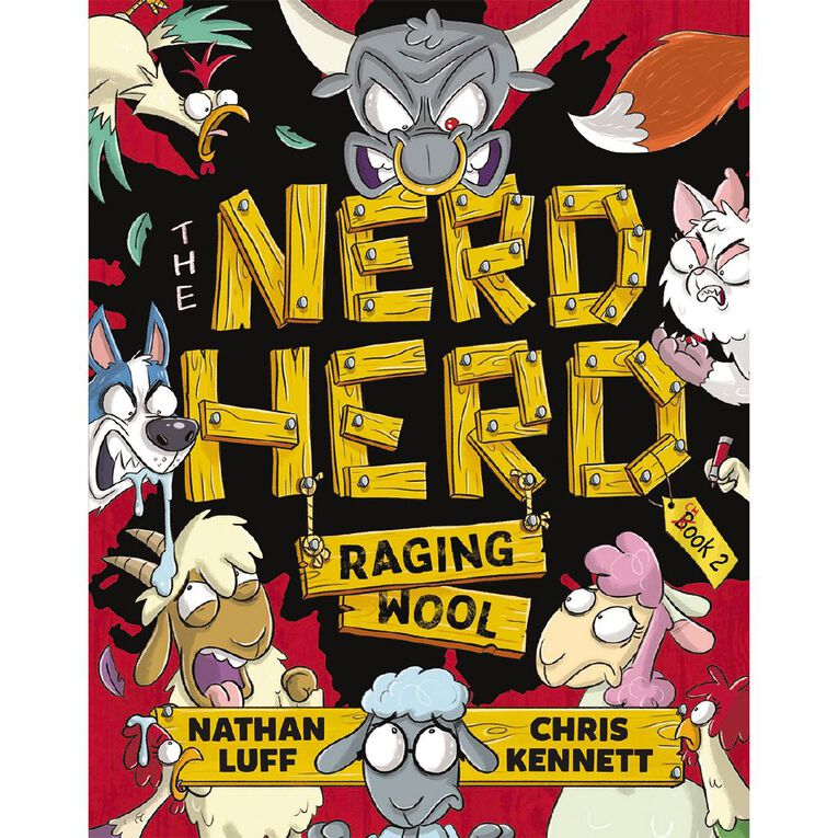 The Nerd Herd #2 Raging Wool by Nathan Luff, , hi-res