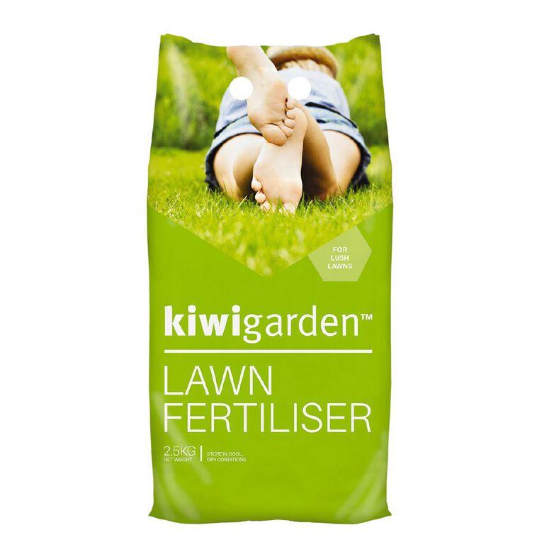 Kiwi Garden Lawn Fertiliser 2.5kg, , hi-res