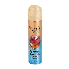 Impulse Body Spray Summer 75ml