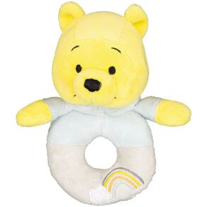 Winnie the Pooh Ring Rattle