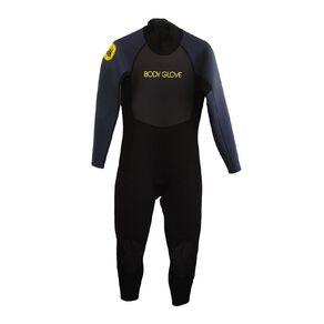 Body Glove Men's Full Suit Black/Grey Large