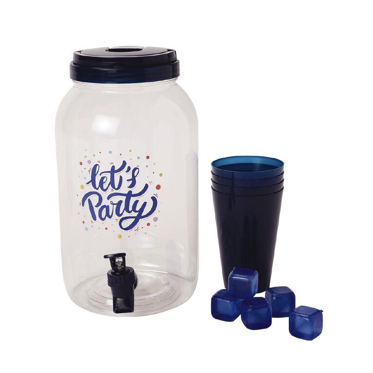 Living & Co Let's Party Drink Dispenser 3.8L, , hi-res