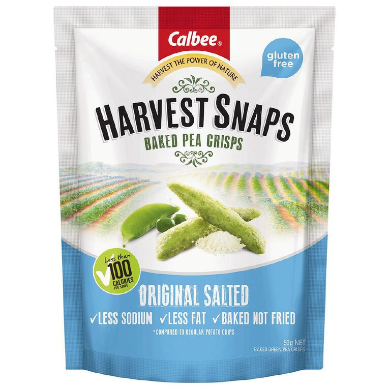 Calbee Harvest Snaps Original Salted 93g, , hi-res